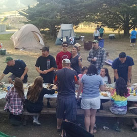 Men's Club Camping Trip-El Capitan State Beach